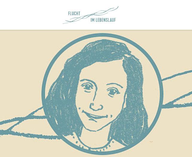 flucht im lebenslauf anne frank zentrum stellt lernmaterial online - Anne Frank Lebenslauf